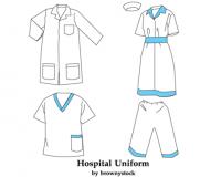 لباس بیمار زنانه و مردانه