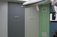 دیوار استیل ماژولار اتاق عمل