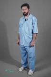 لباس بیمار مردانه - لباس بستری مردانه